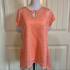 NWT! ND Coral Tunic